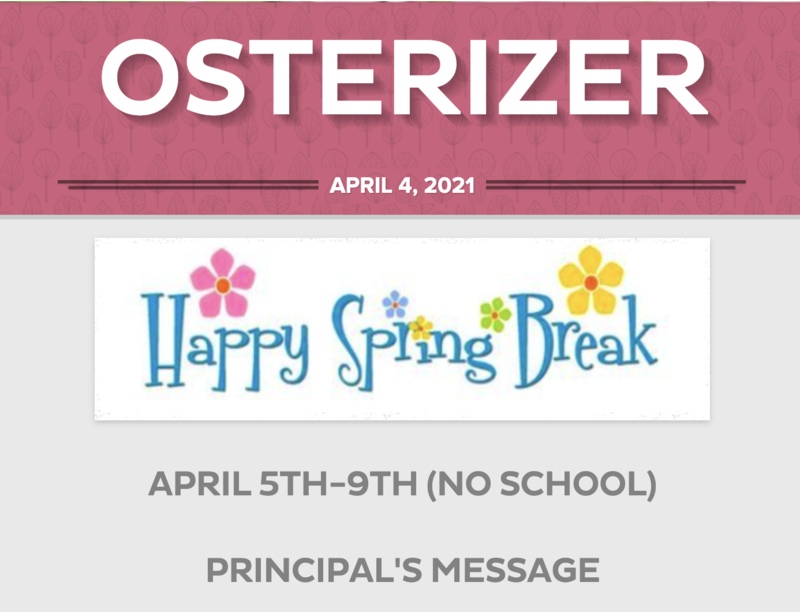 Osterizer - April 4th, 2021 Featured Photo