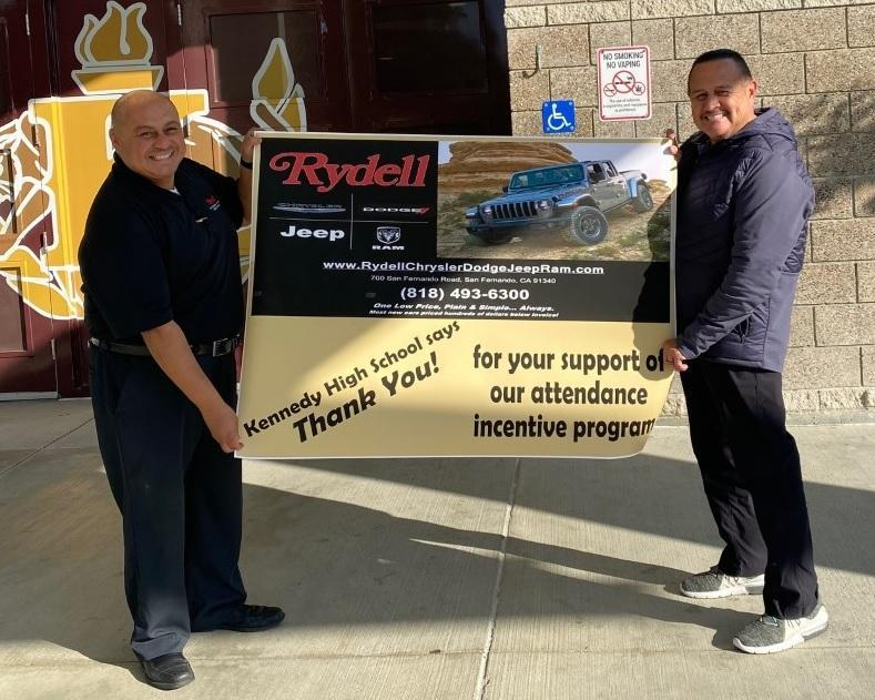 Rydell Supports Kennedy HS Featured Photo