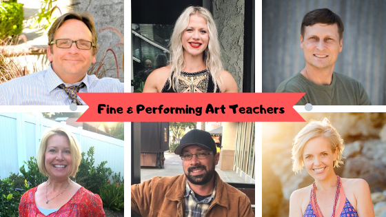 fine and performing art teachers