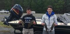 BUHS Bass members placed 5th at Summersville