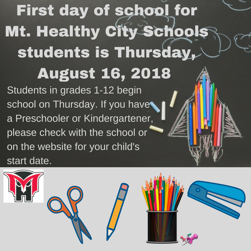 First Day of School Information Featured Photo
