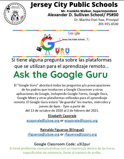 Google Guru-Spanish