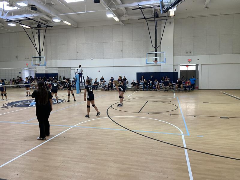 Girls Volleyball at Rancho Viejo