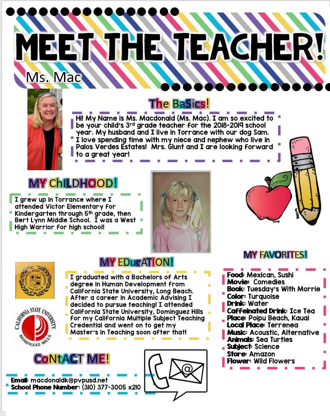 Meet Ms. Mac
