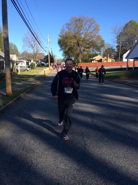 Runner in Run for Maggie