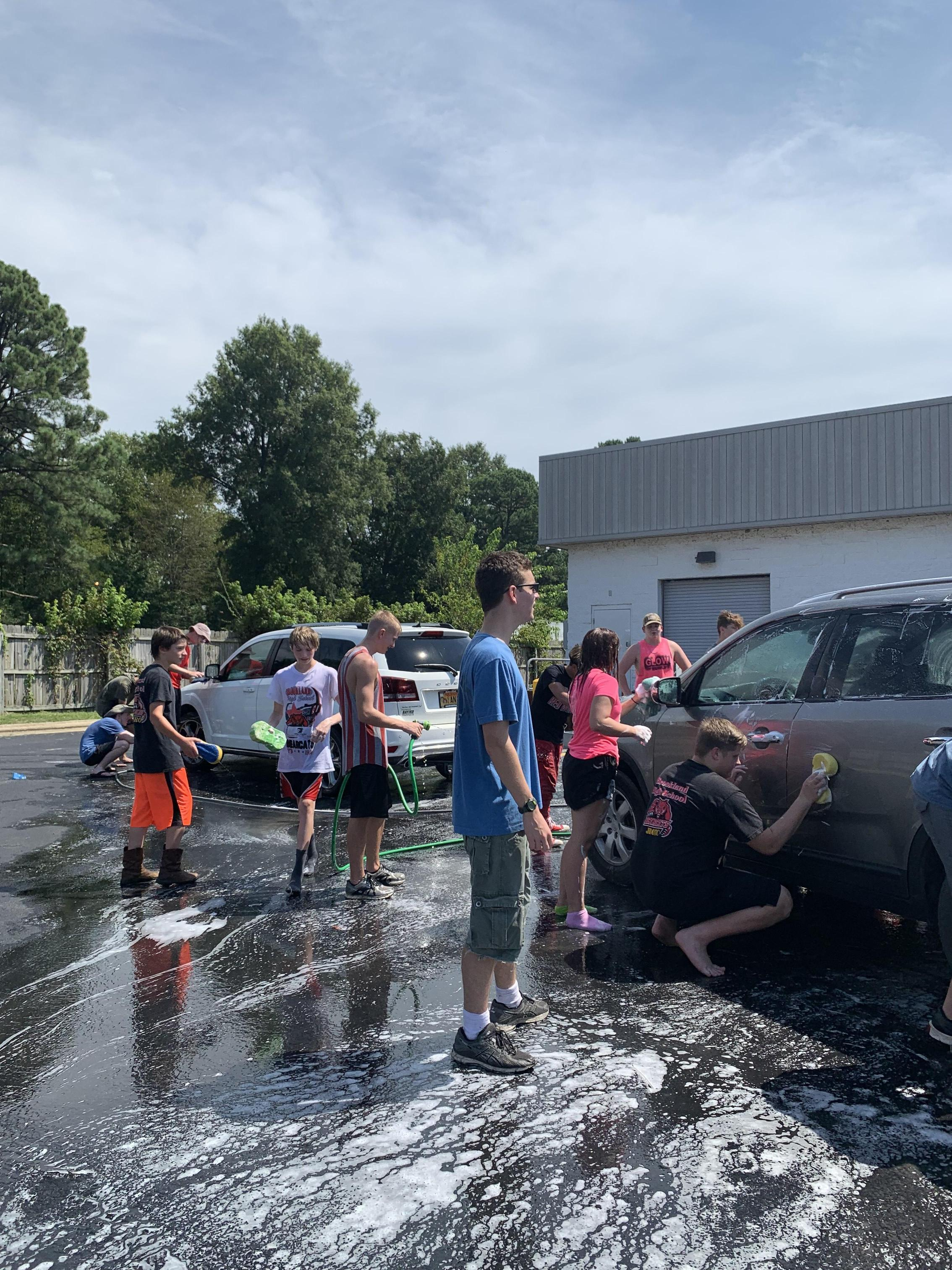 ROTC Car Wash