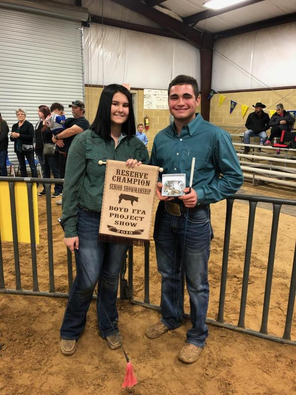 Boyd FFA Project Showmanship Winners Thumbnail Image
