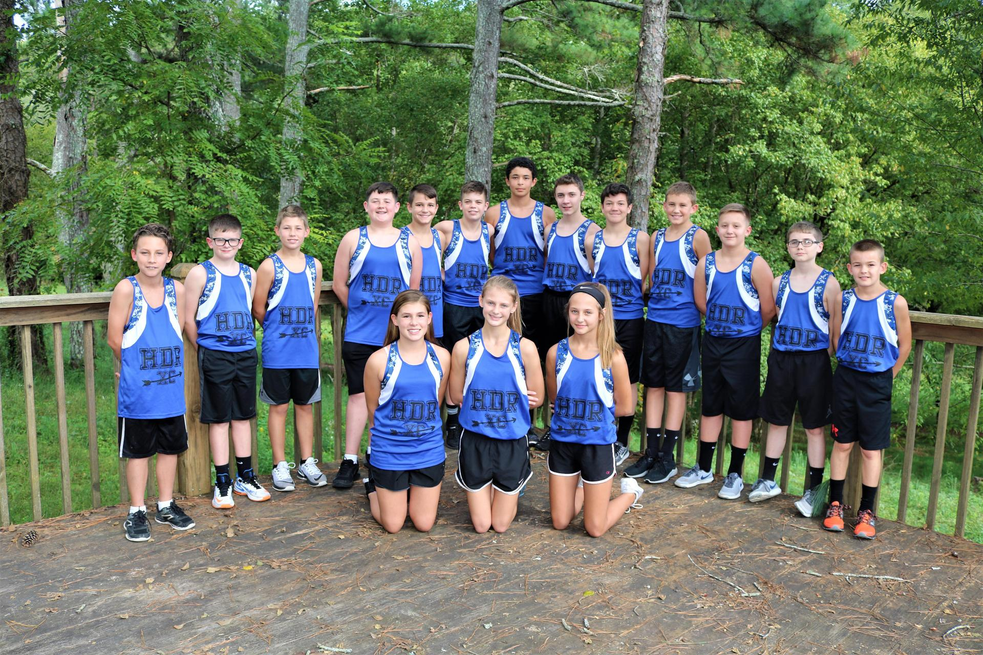 REMS Cross Country Team