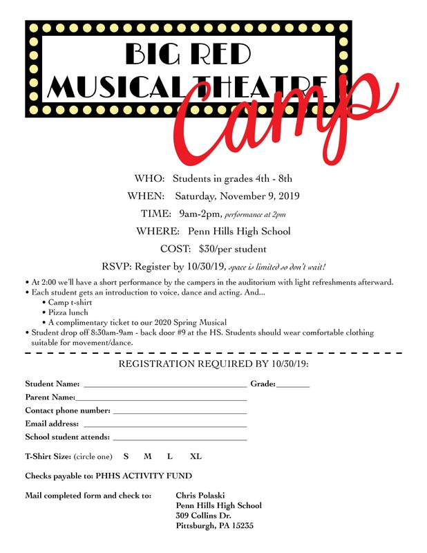 music theater camp