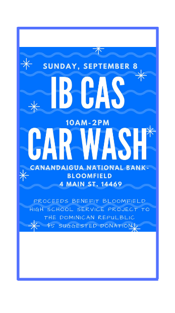 Car wash this Sunday!