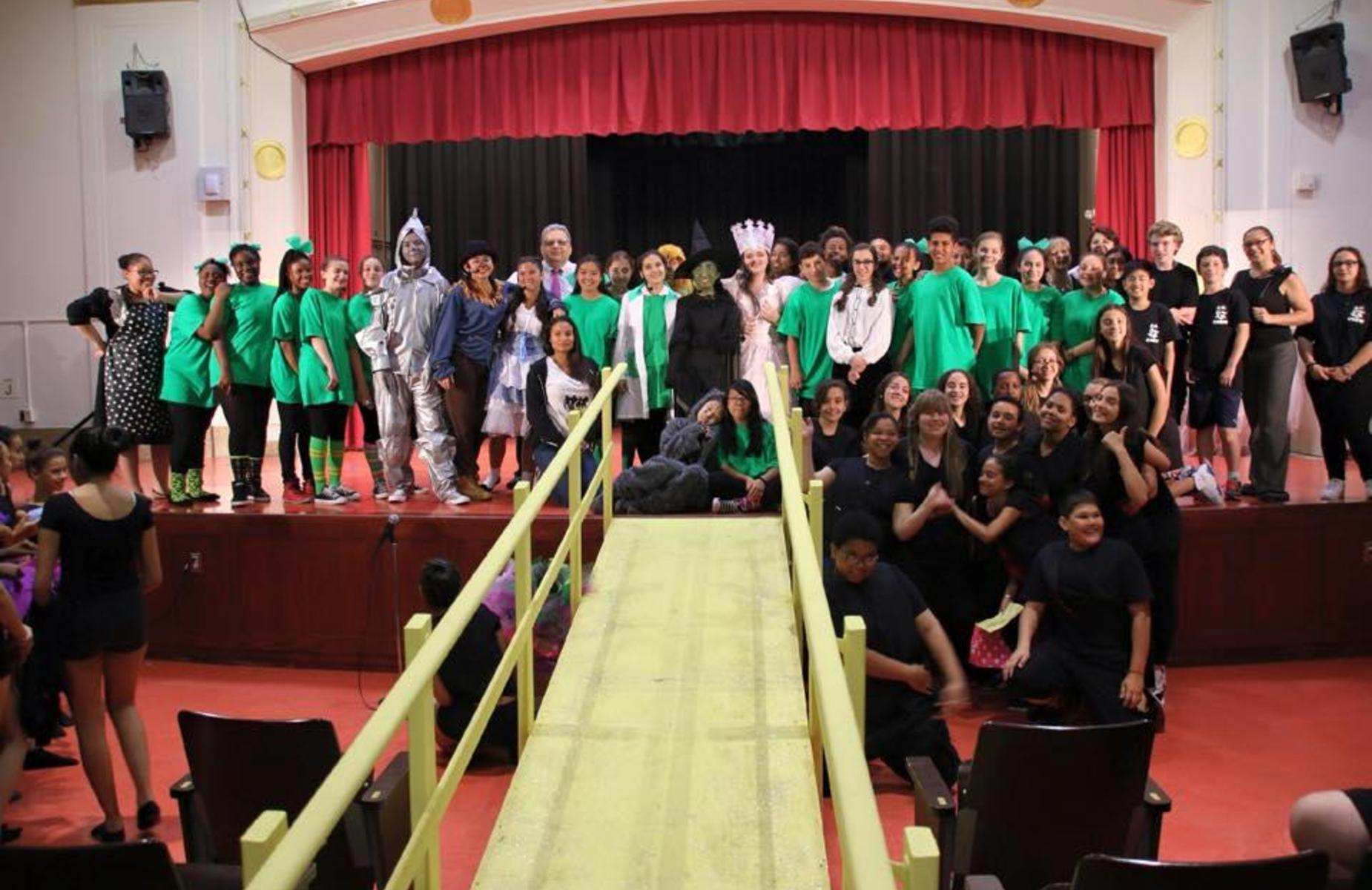 Musical Theater's performance of The Wizard of Oz