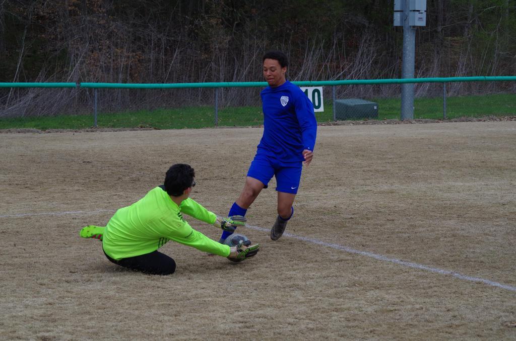 HHS Soccer 2018 Goal tending