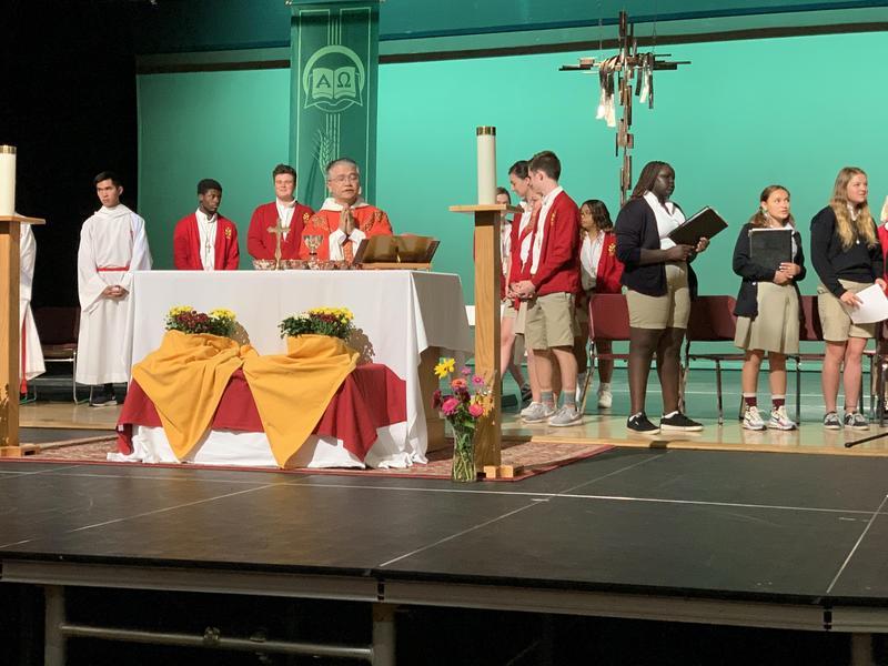 Livestream of Last All-School Mass Featured Photo