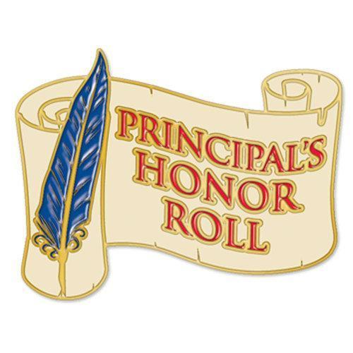 Principal's Honor Roll Pin