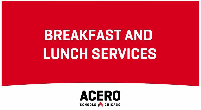 Breakfast and Lunch Services