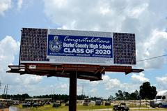 graduation billboard