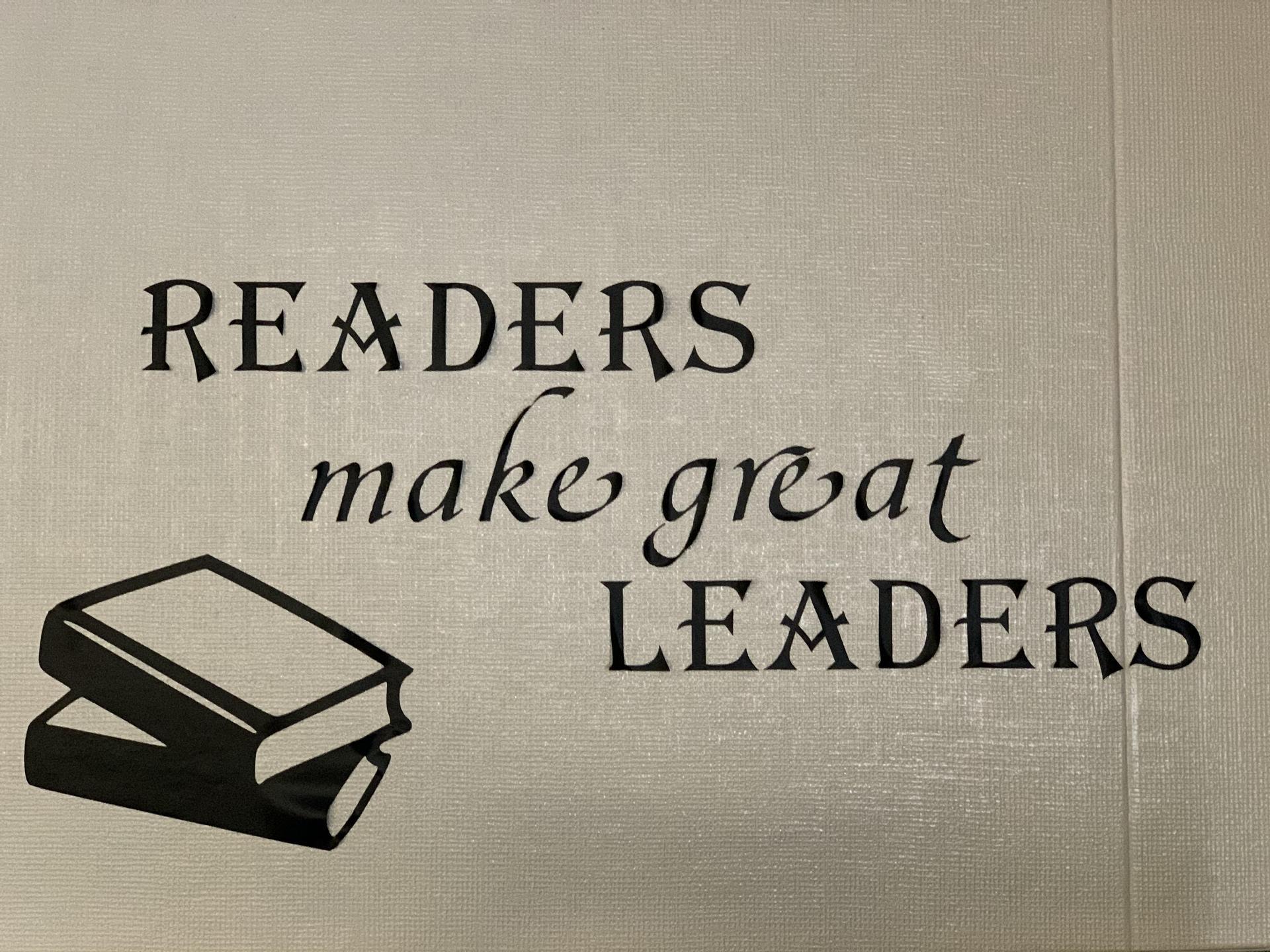 Readers Make Great Leaders
