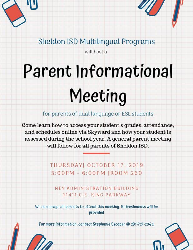 Parent Informational Meeting Featured Photo