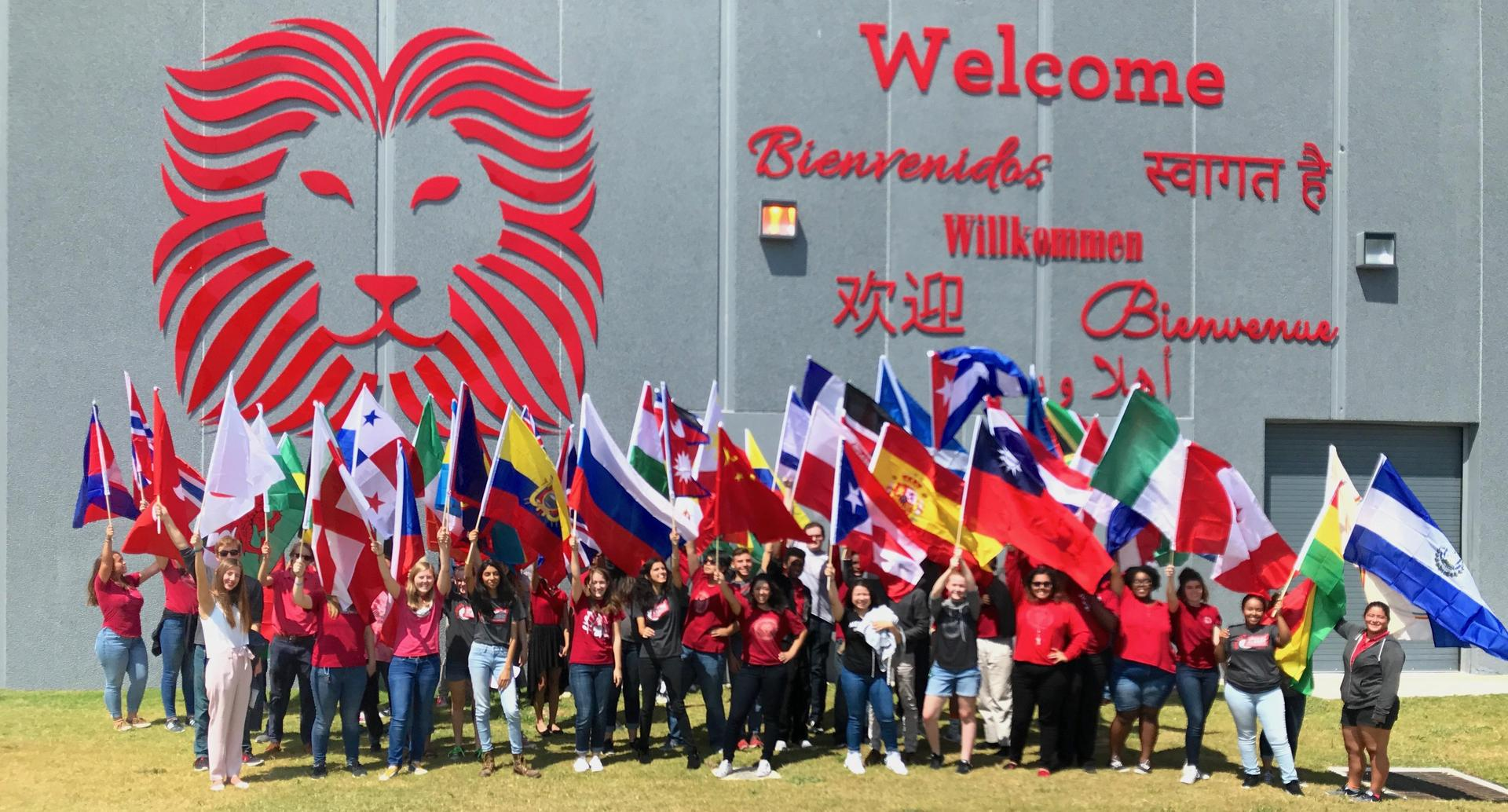 International Day, in which students celebrate their cultures and heritage through a large parade.