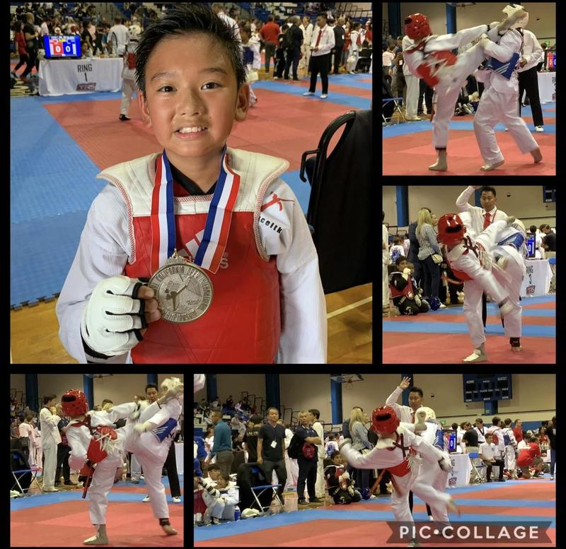 Another Medal at The 27th California Open Taekwondo Championship Featured Photo