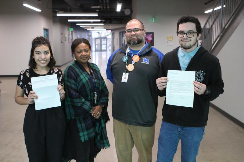 Two MNTHS Scholars Recognized For High PSAT/NMSQT Score Thumbnail Image