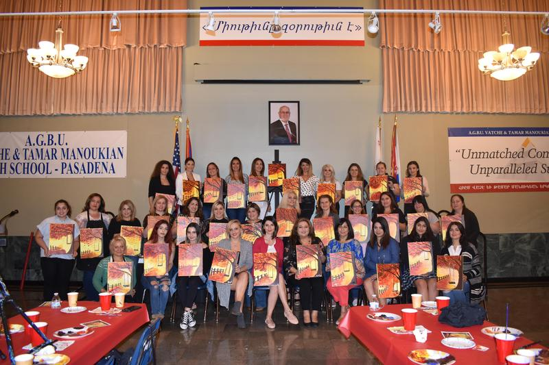 PSG Hosts Paint Night Featured Photo