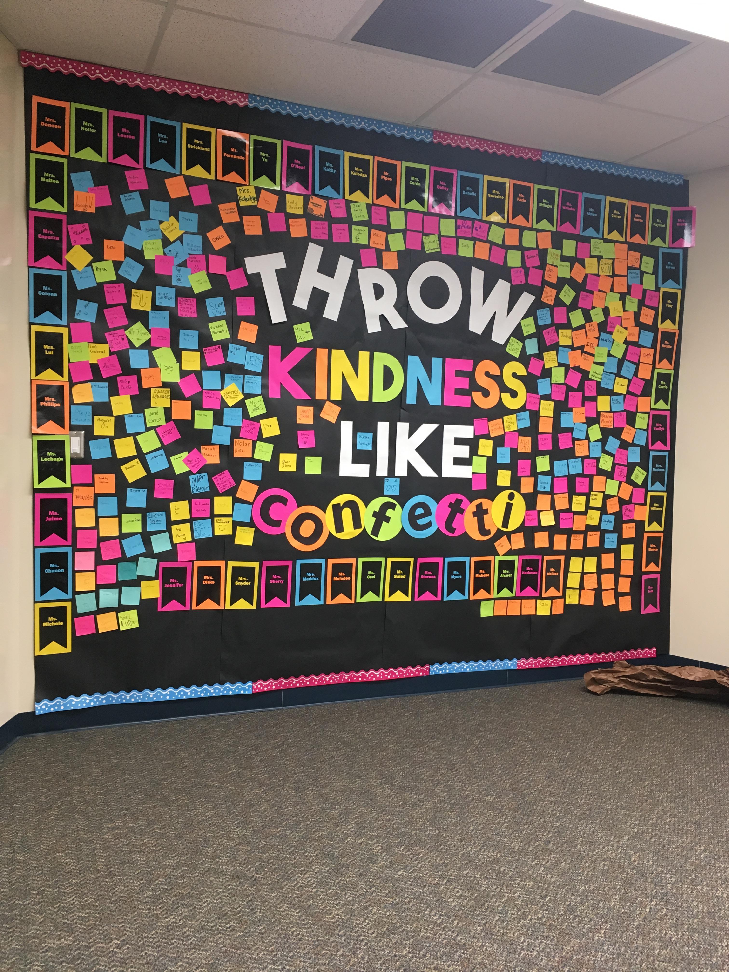 Fanning Falcons throw Kindness like Confetti!
