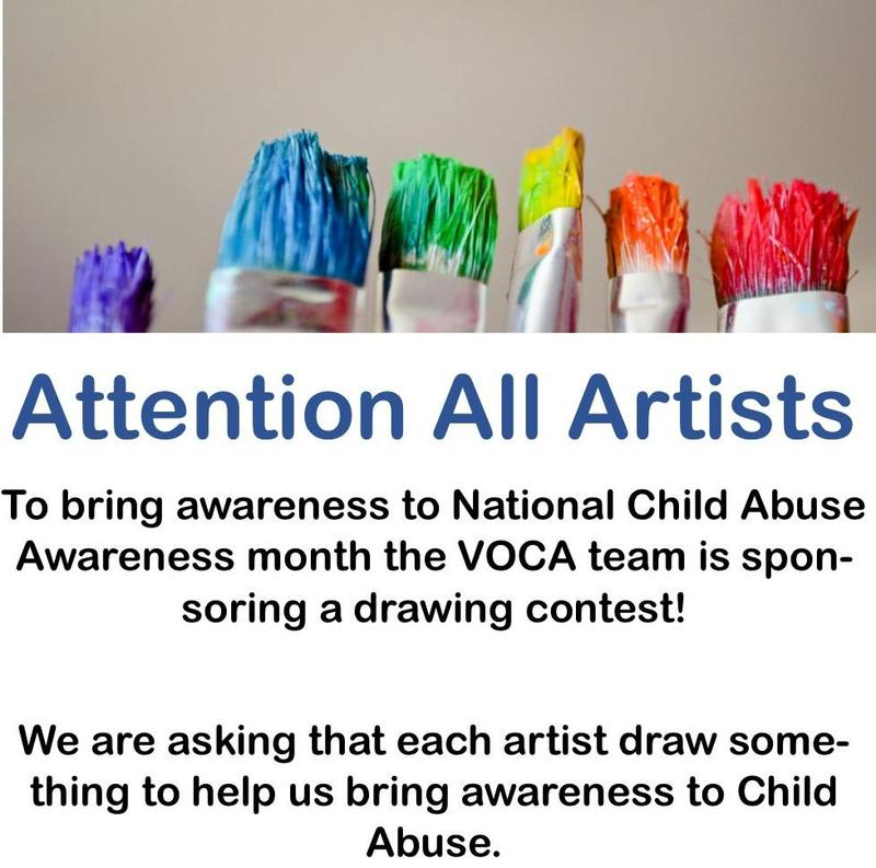 Art Contest for Child Abuse Prevention Month Featured Photo