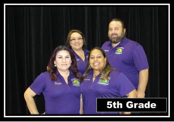 5th grade staff