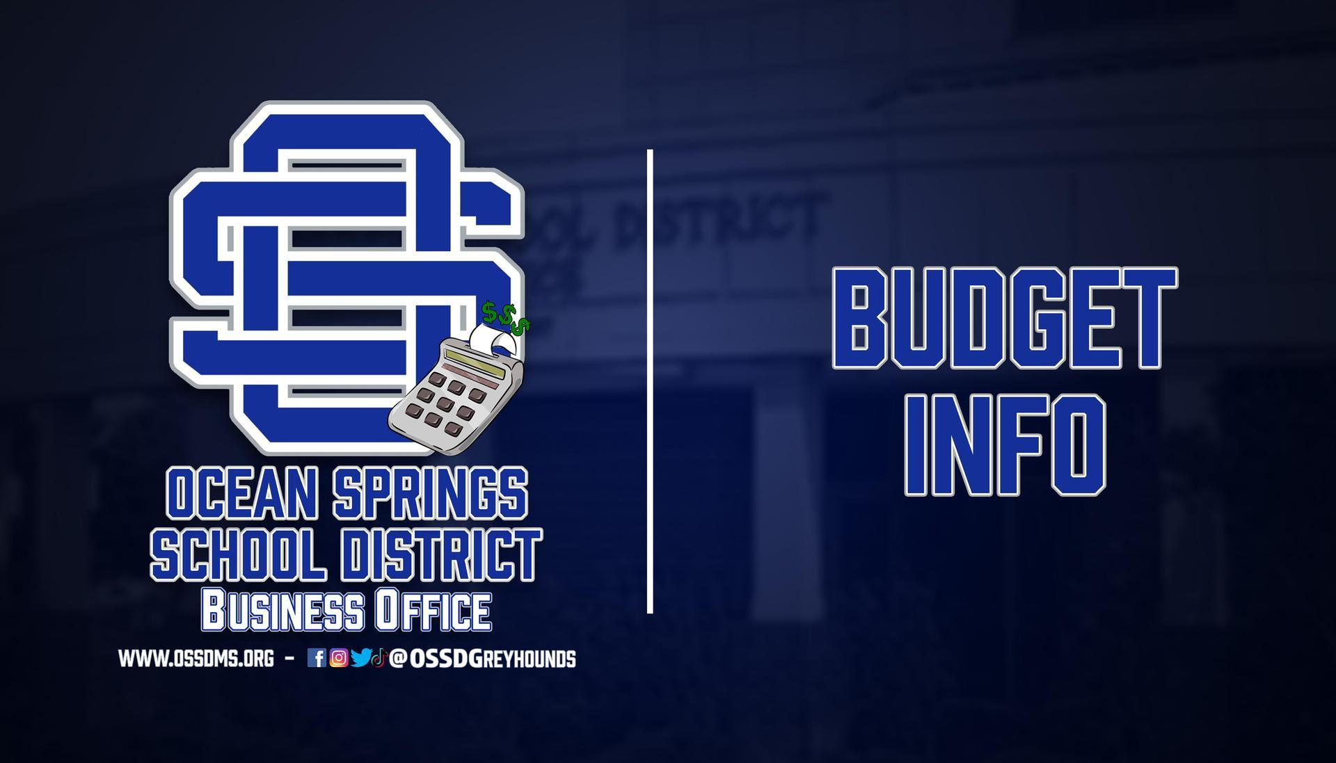 Budget Info header