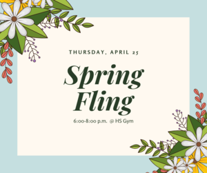Spring Fling Announcement
