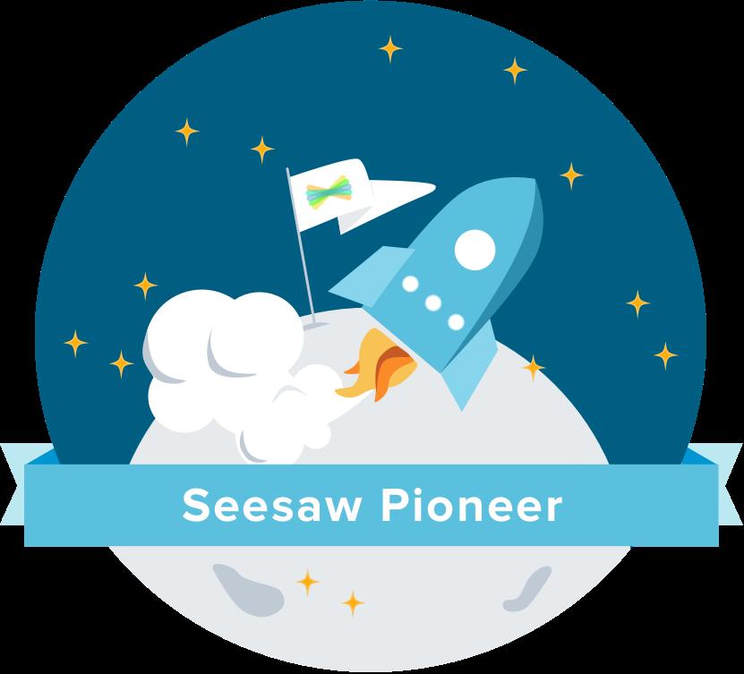 seesaw pioneer badge