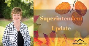 Dr. Morrison's Superintendent Update