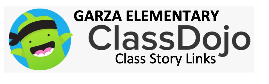 Garza Dojo Class Story Logo