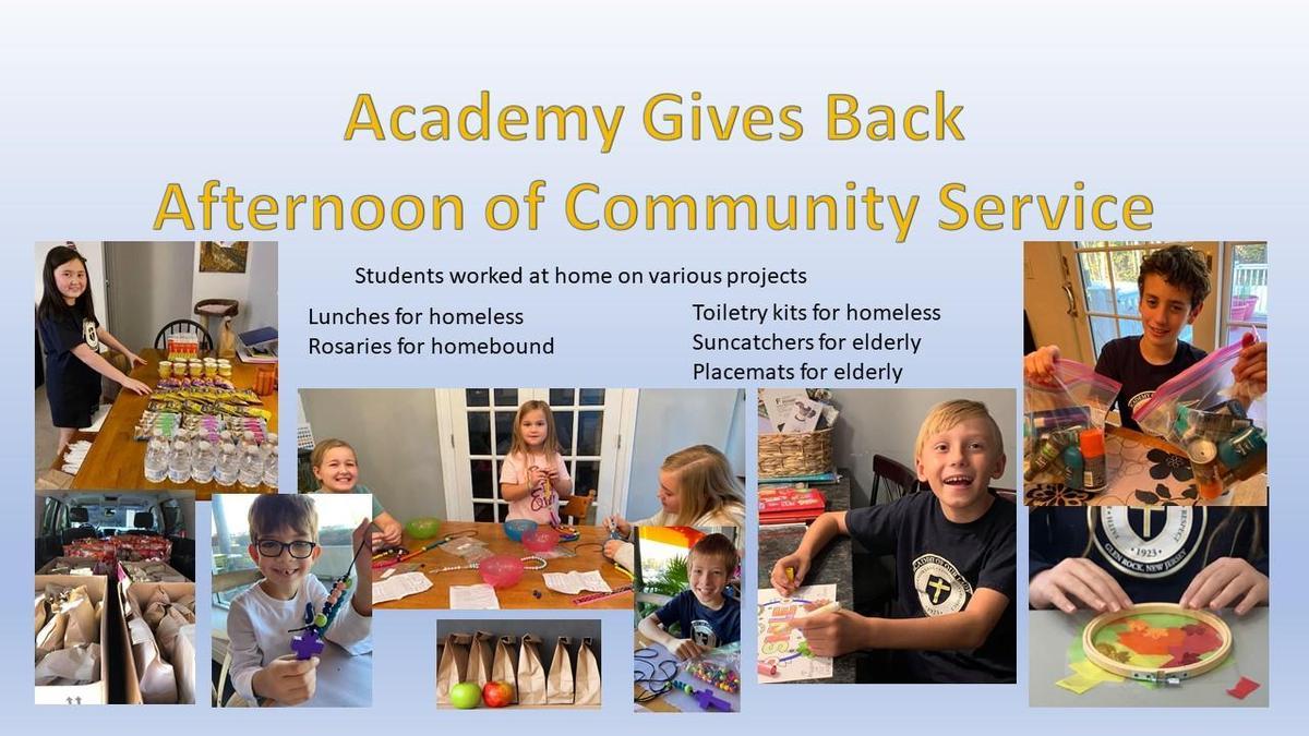 Academy Give Back Nov 2020