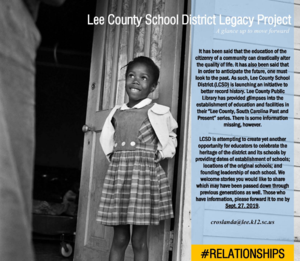 Legacy Project launch