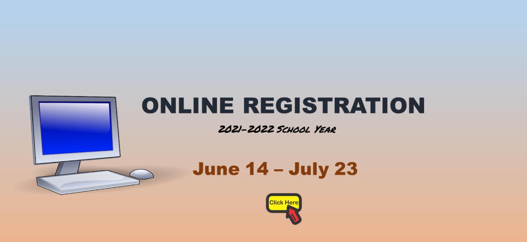 Online Registration Graphic