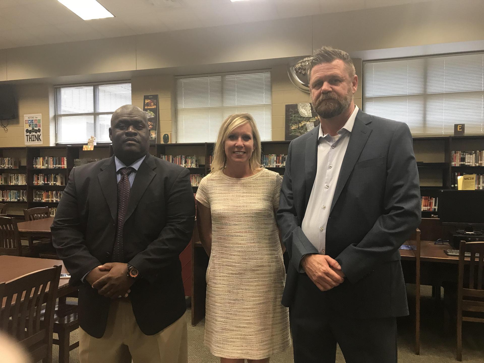 Mr. Brinson, Mrs. Askew and Mr. Joiner