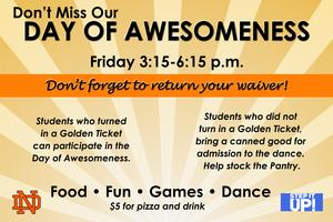 Day of awesomeness Friday May 17