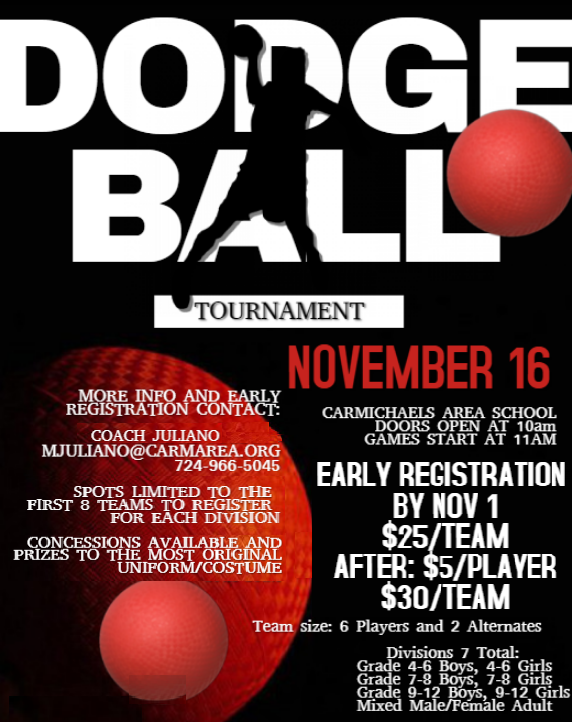 Last Chance to Register for Dodgeball Tournament! Thumbnail Image