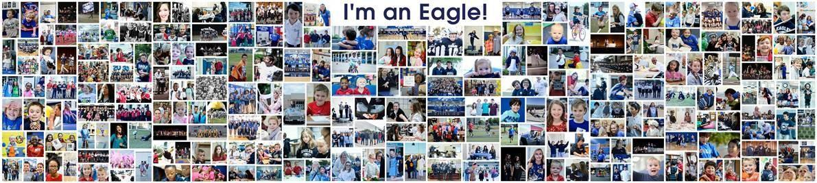 Collage of POPCS Eagle Students, Faculty and Staff