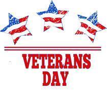 November 12: Veterans Day Program Featured Photo