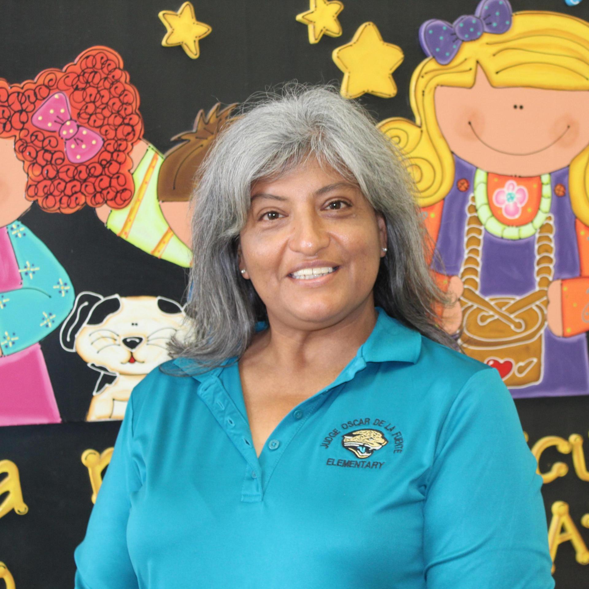 Mrs. Cruz, Kinder Teacher