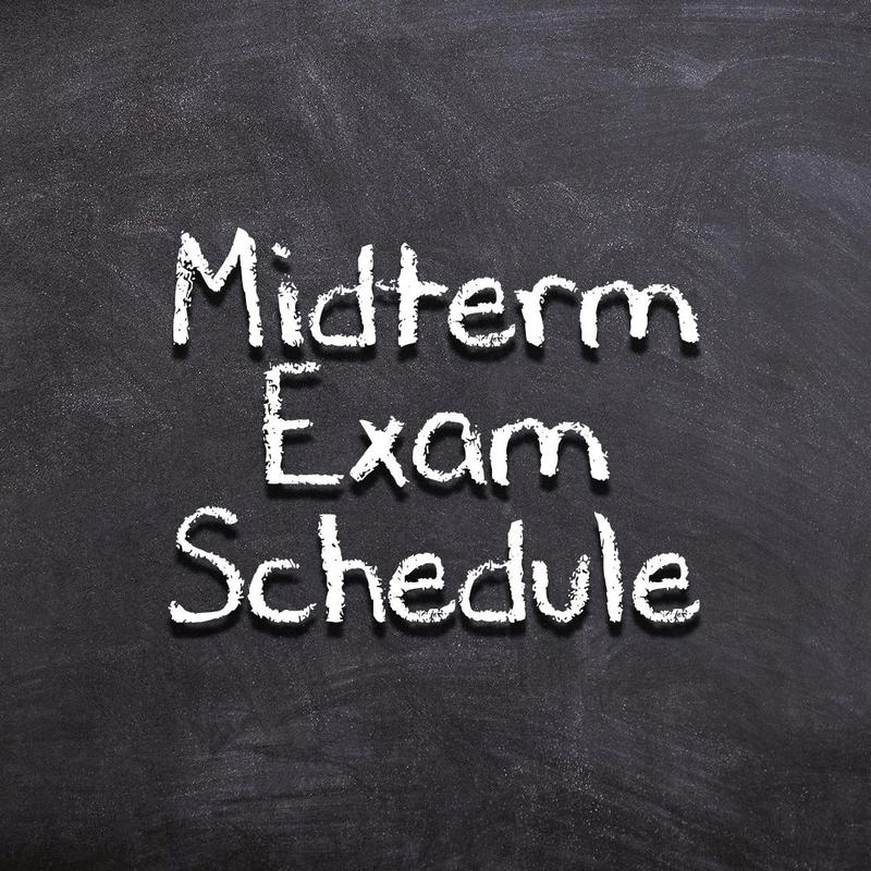 Midterm Exam Schedule & Expectations Thumbnail Image