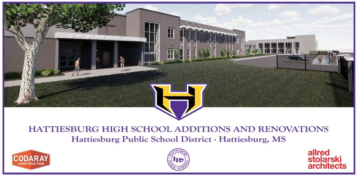 Hattiesburg High School New Construction Image