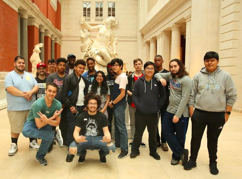 Mr. DelFino's Music Class Visits the Met Featured Photo