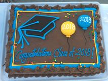 Cake for the Class of 2018!