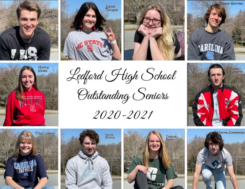 2020-2021 Outstanding Seniors