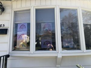 Ms. Sansevere's Window display