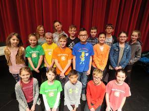 Eighteen Page Elementary students were finalists in the schoolwide spelling bee.